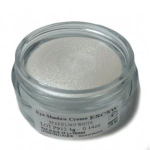 Тени для глаз кремовые ESCSW сверкающие белые, ATELIER, 4 гр.